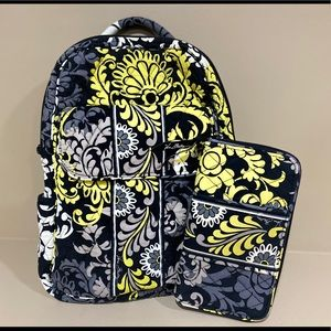 Vera Bradley Small Backpack & Accordion Wallet